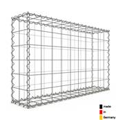 Gabion 100 x 60 x 20 cm - Qualité Made in Germany - Mailles Carrées 10 x 10 cm - GabionDeco®