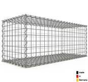 Gabion 100 x 40 x 40 cm - Qualité Made in Germany - Mailles Carrées 5 x 5 cm - GabionDeco®