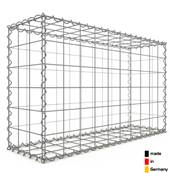 Gabion 100 x 60 x 30 cm - Qualité Made in Germany - Mailles Carrées 10 x 10 cm - GabionDeco®