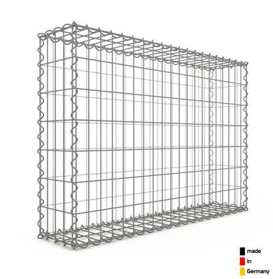 Gabion 100 x 70 x 20 cm - Qualité Made in Germany - Mailles Rectangulaires 5 x 10cm - GabionDeco®