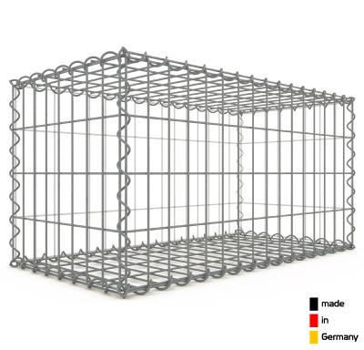 Gabion 80 x 40 x 40 cm - Qualité Made in Germany - Mailles Rectangulaires 5 x 10 cm - GabionDeco®