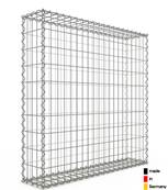 Gabion 100 x 100 x 20 cm - Qualité Made in Germany - Mailles Rectangulaires 5 x 10cm - GabionDeco®