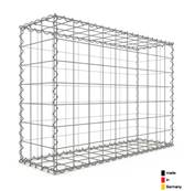 Gabion 100 x 70 x 30 cm - Qualité Made in Germany - Mailles Carrées 10 x 10 cm - GabionDeco®