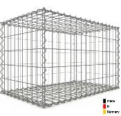 Gabion 80 x 50 x 50 cm - Qualité Made in Germany - Mailles Rectangulaires 5 x 10 cm - GabionDeco®