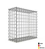 Gabion 50 x 50 x 20 cm - Qualité Made in Germany - Mailles Carrées 5 x 5 cm - GabionDeco®