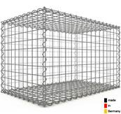 Gabion 80 x 50 x 50 cm - Qualité Made in Germany - Mailles Carrées 5 x 5 cm - GabionDeco®
