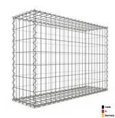 Gabion 100 x 70 x 30 cm - Qualité Made in Germany - Mailles Rectangulaires 5 x 10cm - GabionDeco®