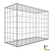 Gabion 100 x 70 x 40 cm - Qualité Made in Germany - Mailles Carrées 10 x 10 cm - GabionDeco®