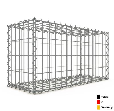 Gabion 80 x 40 x 30 cm - Qualité Made in Germany - Mailles Rectangulaires 5 x 10 cm - GabionDeco®