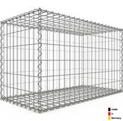 Gabion 100 x 60 x 50 cm - Qualité Made in Germany - Mailles Rectangulaires 5 x 10cm - GabionDeco®