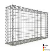 Gabion 100 x 60 x 20 cm - Qualité Made in Germany - Mailles Carrées 5 x 5 cm - GabionDeco®