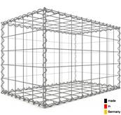 Gabion 80 x 50 x 50 cm - Qualité Made in Germany - Mailles Carrées 10 x 10 cm - GabionDeco®