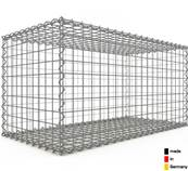 Gabion 100 x 50 x 50 cm - Qualité Made in Germany - Mailles Carrées 5 x 5 cm - GabionDeco®