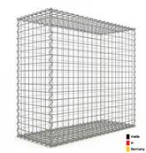Gabion 100 x 90 x 40 cm - Qualité Made in Germany - Mailles Carrées 5 x 5 cm - GabionDeco®
