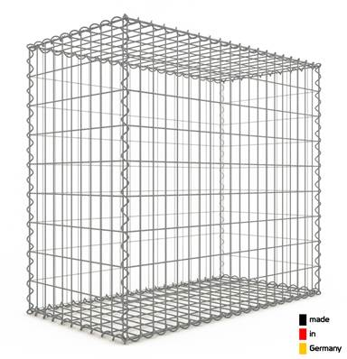 Gabion 100 x 90 x 50 cm - Qualité Made in Germany - Mailles Rectangulaires 5 x 10cm - GabionDeco®