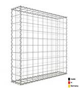 Gabion 100 x 100 x 20 cm - Qualité Made in Germany - Mailles Carrées 10 x 10 cm - GabionDeco®