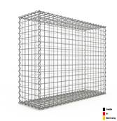Gabion 100 x 80 x 30 cm - Qualité Made in Germany - Mailles Carrées 5 x 5 cm - GabionDeco®