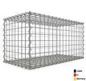 Gabion 80 x 40 x 40 cm - Qualité Made in Germany - Mailles Carrées 5 x 5 cm - GabionDeco®