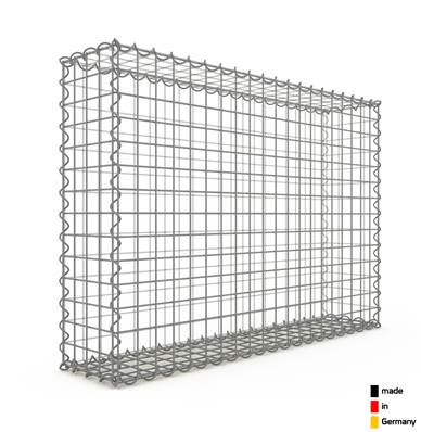 Gabion 100 x 70 x 20 cm - Qualité Made in Germany - Mailles Carrées 5 x 5 cm - GabionDeco®