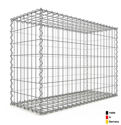 Gabion 100 x 70 x 40 cm - Qualité Made in Germany - Mailles Rectangulaires 5 x 10cm - GabionDeco®