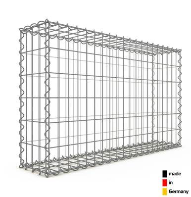 Gabion 100 x 60 x 20 cm - Qualité Made in Germany - Mailles Rectangulaires 5 x 10 cm - GabionDeco®