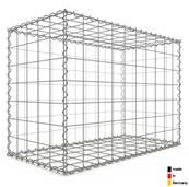 Gabion 100 x 70 x 50 cm - Qualité Made in Germany - Mailles Carrées 10 x 10 cm - GabionDeco®