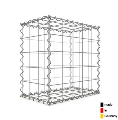 Gabion 50 x 50 x 30 cm - Qualité Made in Germany - Mailles Carrées 10 x 10 cm - GabionDeco®
