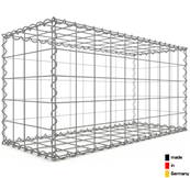 Gabion 100 x 50 x 40 cm - Qualité Made in Germany - Mailles Carrées 10 x 10 cm - GabionDeco®