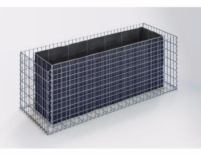 jardini res en gabions jardin terrasses. Black Bedroom Furniture Sets. Home Design Ideas