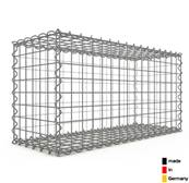 Gabion 80 x 40 x 30 cm - Qualité Made in Germany - Mailles Carrées 5 x 5 cm - GabionDeco®