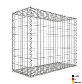 Gabion 100 x 80 x 40 cm - Qualité Made in Germany - Mailles Rectangulaires 5 x 10cm - GabionDeco®