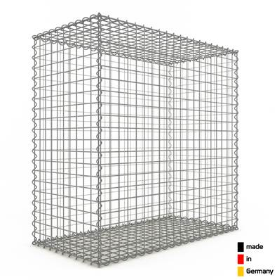 Gabion 100 x 100 x 50 cm - Qualité Made in Germany - Mailles Carrées 5 x 5 cm - GabionDeco®