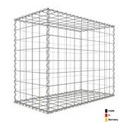 Gabion 100 x 80 x 50 cm - Qualité Made in Germany - Mailles Carrées 10 x 10 cm - GabionDeco®