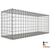 Gabion 100 x 40 x 30 cm - Qualité Made in Germany - Mailles Carrées 5 x 5 cm - GabionDeco®