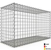 Gabion 100 x 60 x 40 cm - Qualité Made in Germany - Mailles Carrées 5 x 5 cm - GabionDeco®