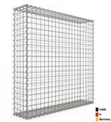 Gabion 100 x 100 x 20 cm - Qualité Made in Germany - Mailles Carrées 5 x 5 cm - GabionDeco®