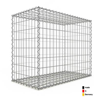 Gabion 100 x 80 x 50 cm - Qualité Made in Germany - Mailles Rectangulaires 5 x 10cm - GabionDeco®
