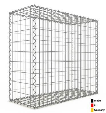 Gabion 100 x 90 x 40 cm - Qualité Made in Germany - Mailles Rectangulaires 5 x 10cm - GabionDeco®