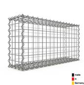 Gabion 80 x 40 x 20 cm - Qualité Made in Germany - Mailles Carrées 5 x 5 cm - GabionDeco®
