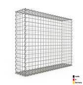 Gabion 100 x 80 x 20 cm - Qualité Made in Germany - Mailles Carrées 5 x 5 cm - GabionDeco®
