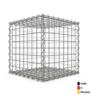 Gabion 40 x 40 x 40 cm - Qualité Made in Germany - Mailles Rectangulaires 5 x 5 cm - GabionDeco®