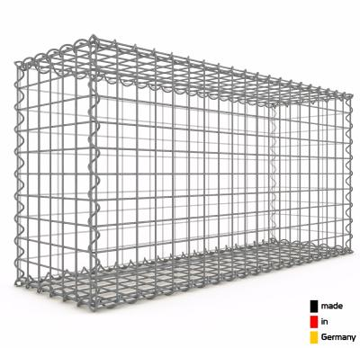 Gabion 100 x 50 x 30 cm - Qualité Made in Germany - Mailles Carrées 5 x 5 cm - GabionDeco®