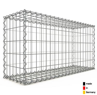 Gabion 100 x 50 x 30 cm - Qualité Made in Germany - Mailles Rectangulaires 5 x 10 cm - GabionDeco®