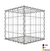 Gabion 40 x 40 x 40 cm - Qualité Made in Germany - Mailles Carrées 10 x 10 cm - GabionDeco®
