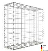Gabion 100 x 90 x 30 cm - Qualité Made in Germany - Mailles Carrées 10 x 10 cm - GabionDeco®