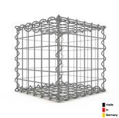 Gabion 30 x 30 x 30 cm - Qualité Made in Germany - Mailles Rectangulaires 5 x 5 cm - GabionDeco®