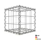 Gabion 30 x 30 x 30 cm - Qualité Made in Germany - Mailles Carrées 10 x 10 cm - GabionDeco®
