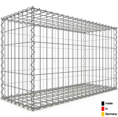 Gabion 100 x 60 x 40 cm - Qualité Made in Germany - Mailles Rectangulaires 5 x 10cm - GabionDeco®