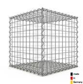 Gabion 50 x 50 x 50 cm - Qualité Made in Germany - Mailles Carrées 5 x 5 cm - GabionDeco®