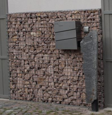gabions sur mesure am nagement d co et mur en pierre. Black Bedroom Furniture Sets. Home Design Ideas